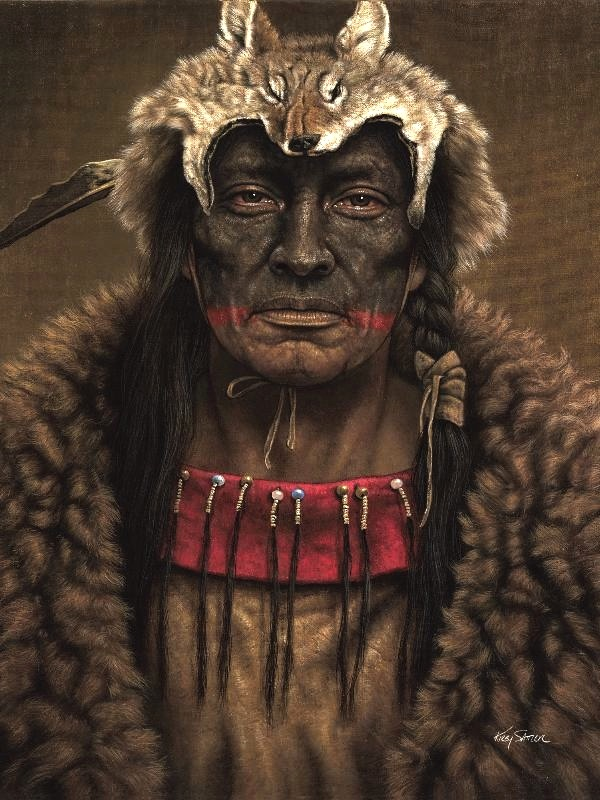 nativeamericanart_coyoterock