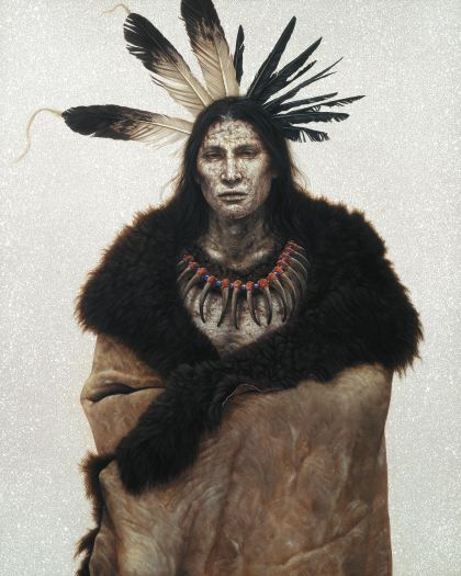 nativeamericanart_distantstorm
