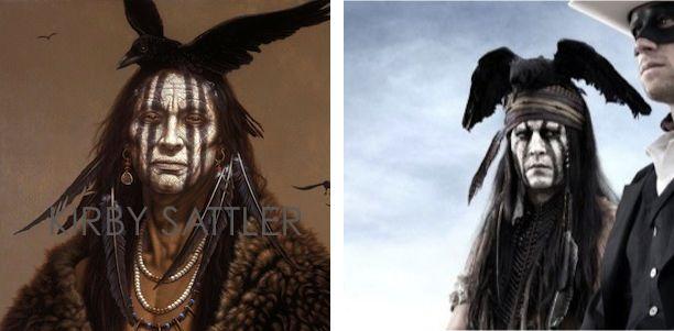 nativeamericanprintsjohnnydepp